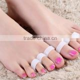 Silicone Gel toe separator Toe Finger Separator feet care braces supports tools Bunion Guard Foot Hallux Valgus