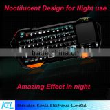 Factory Price Mini wireless bluetooth keyboard with mouse touchpad