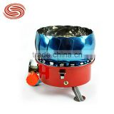 Wholesale or Retail Outdoor Camping Gas Stove Lotus Shape Wind Cap Portable Stove Outdoor Picnic Stoves Electronic Ignition