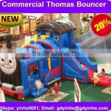 2016 new style thomas the train inflatable bounce house