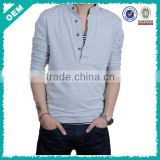 2015 new custom polo shirt design, mens cotton pique Rib stand polo collar tshirt design