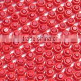 SS6 Colored rhinestone trimming / plastic base cup chain /wedding dress/jewelry accessories rhinestone banding