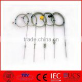 J K Type Probe Thermocouple with Lead Wire