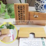 Superior Business Name Card Holder Bamboo Case