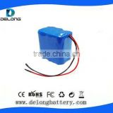 Made in china OEM factory price 3S2P battery charger 12v 18650 cylindrical battery pack 5200mAh for back up power system