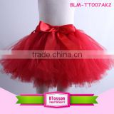 Red tutu cheap tutu/children/ kid/girls dance ballet short skirt dress baby girls mini skirt
