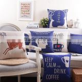 Europe style cushion cover plain cushion cover