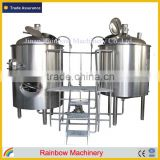 5 bbl beer brewing equipment, beer brewery equipment, stainless steel conical beer fermentation equipment with cooling jacket