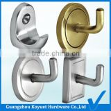 Wholesale Modern Free Shipping Top Quality Factory Directly Toilet Fitting Metal Hook Plastic Cloth Hanger