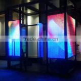 P25 Aluminum Outdoor Transparent LED Screen Curtain LED Advertising Display                                                                         Quality Choice
