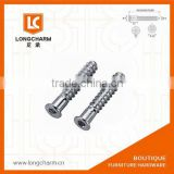 M5 furniture joint connector bolts hex bolt hanger bolts from Guangzhou Hardware