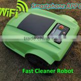 The 4th Generation Smartphone App Control Portable Lawn Mower Robot With Water-proofed Charger
