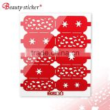 hollow stencil nail sticker for girls stamping plate nail art 2016 hotest selling beauty sticker                                                                         Quality Choice