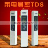 TDS EC Meter Temperature Tester pen 3 In1 Function Conductivity Water Quality Measurement Tool TDS&EC Tester 0-9000ppm