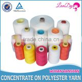 Low Shrinkage High Temperature Resistant High Tenacity Feature and 100% polyester Material 402 Sewing thread