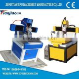 mini crafts stone/soft metal cnc carving PCB milling machine with water tank