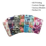 HD printing custom design PC/TPU/ABS/silicon water transfer cell phone case cell phone cover