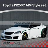 Professional tuning-New arrival FRP body kit fit for Toyota lexus IS250C AIMgain design body kit 2008~2010year