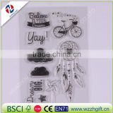 new arrival creative transparent high quality ecofriendly decorative elegant DIY Transparent Silicone Clear Stamp