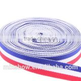 Wholesale 3 color france flag personalized elastic band