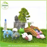 terrarium accessories miniature fairy garden random large size plastic miniature people animal crystal bird cast iron figurines