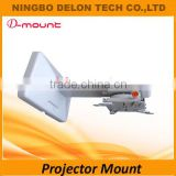 universal short throw projector ceiling mount wall bracket
