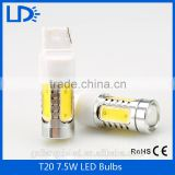Guangzhou wholesale factory price auto parts car lights T20 7.5W led break light