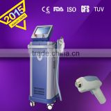 Back / Whisker Hi-tech 808nm Diode Laser Hair Removal Machine 808 12x12mm Light Sheer Diode Laser For Hair Removal 8.4 Inches Multifunctional