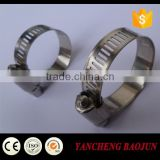 High Torque 12.7mm band width Worm Drive Hose Clamp