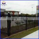 Golden supplier PVC Coated Cyclone Wire Mesh Fence Galvanized Steel Palisade