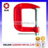 OEM ductile cast iron casting steel thread rod slide bar woodworking steel-structure clamping apparatus G Clamps