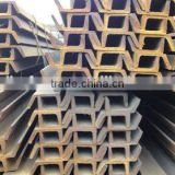 Inclined stainless steel channel