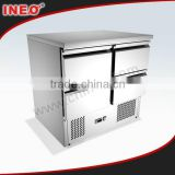304 Stainless steel commercial mini mini refrigerator/frigidaire refrigerator/mini fridge with compressor