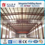 Top Build light steels structure frame safe and solid warm boiler chicken poultry house with feed system