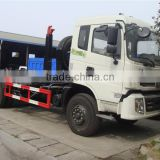 good quality dongfeng 16m3 double axle 6x4 bin hook loading rubbish truck