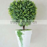 Artificial boxwood topiary heart plant
