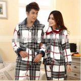 2015 Woman Pyjama Cotton, Smocked Pyjama,Flannel Pajamas