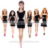 New arrival product barbie doll clothes dress up games for girls made in china