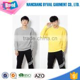 Wholesale Alibaba China Hoodies Crew Neck Blank Hoodies Custom Hoodies Plain Dyed Sweatshirts for Man