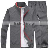 Sportswear Factory Of Custom High Thai Quality Cheap Women Tracksuit Men Jogging Uniforms Set