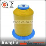 100% 120D 3 spun raw polyester sewing material thread