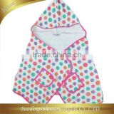 hebei gaoyang microfiber quick dry super absorbent reactive printed kids poncho baby hooded towel 50*140cm+30cm hood