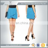front wrapped ladies sexy fashion pencil short skirt hot selling customized summer tight skirt