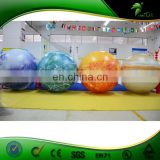Large Led Inflatable Hanging Ball, Inflatable Planets Balloon With Led, Trade Show Balloon For Sale