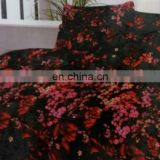 fashional embroidered bed sheet set