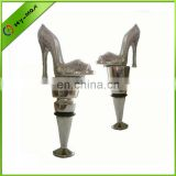 fashion high heel shaped wine stopper