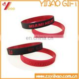 Smart Dual colors Silicone Wristband,Custom Red and Black Dual colors/Segmented Colors/Mix colors silicone Bracelet Wristband