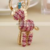HOT CUSTOM PREMIUM SPECIALIZED DIAMOND PRETTY CRYSTAL HORSE KEYCHAIN