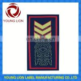 rank uniform epaulettes