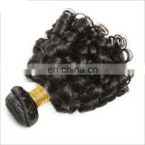 Professional Humanl Hair Factory wholesale short human hair curly hair weave for black women